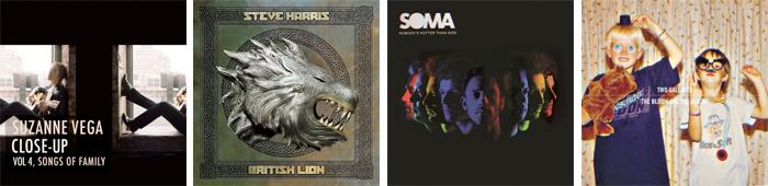 SUZANNE VEGA, STEVE HARRIS, SOMA, TWO GALLANTS... : LES SORTIES DE LA SEMAINE DU 24 SEPTEMBRE 2012