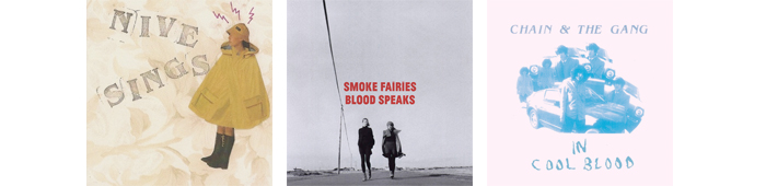 NIVE NIELSEN, SMOKE FAIRIES, CHAIN & THE GANG... : LES SORTIES DE LA SEMAINE DU 25 JUIN 2012