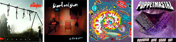 THE STRANGLERS, BLOOD RED SHOES, ROCKET JUICE AND THE MOON, PUPPETMASTAZ... : LES SORTIES DE LA SEMAINE DU 26 MARS 2012