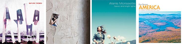 ARIEL PINK, ARCHIVE, DAN DEACON, ALANIS MORISSETTE... : LES SORTIES DE LA SEMAINE DU 27 AOUT 2012