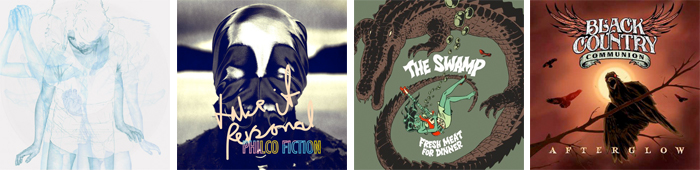 WINTERSLEEP, PHILCO FICTION, THE SWAMP, BLACK COUNTRY COMMUNION... : LES SORTIES DE LA SEMAINE DU 29 OCTOBRE 2012