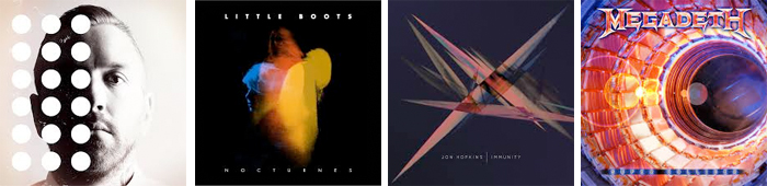 CITY AND COLOUR, LITTLE BOOTS, JON HOPKINS, MEGADETH... : LES SORTIES DE LA SEMAINE DU 3 JUIN 2013