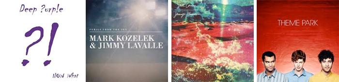 DEEP PURPLE, MARK KOZELEK & JIMMY LAVALLE, STILL CORNERS, THEME PARK... : LES SORTIES DE LA SEMAINE DU 6 MAI 2013