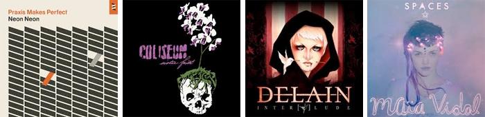 NEON NEON, COLISEUM, DELAIN, MAÏA VIDAL... : LES SORTIES DE LA SEMAINE DU 6 MAI 2013