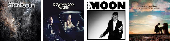STONE SOUR, TOMORROW'S WORLD, WILLY MOON, BILL RYDER JONES... : LES SORTIES DE LA SEMAINE DU 8 AVRIL 2013