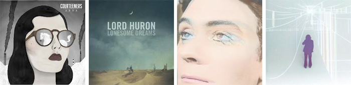 THE COURTEENERS, LORD HURON, THE RUBY SUNS, JIM JAMES... : LES SORTIES DE LA SEMAINE DU 11 FEVRIER 2013