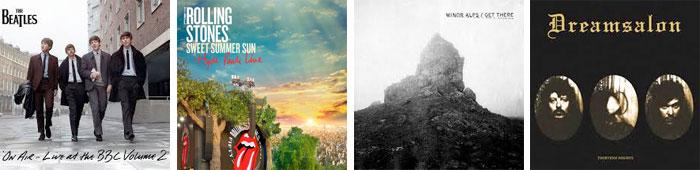 THE BEATLES, THE ROLLING STONES, MINOR ALPS, DREAMSALON : LES SORTIES DE LA SEMAINE DU 11 NOVEMBRE 2013