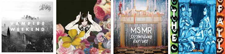 VAMPIRE WEEKEND, PRIMAL SCREAM, MS MR, THE FALL... : LES SORTIES DE LA SEMAINE DU 13 MAI 2013