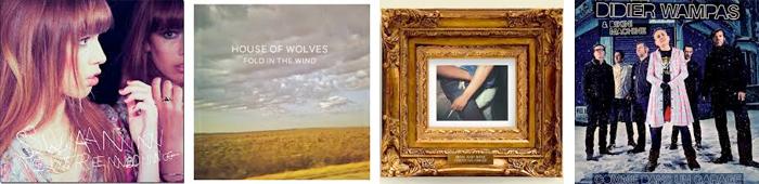 SWANN, HOUSE OF WOLVES, IRON AND WINE, DIDIER WAMPAS & BIKINI MACHINE... : LES SORTIES DE LA SEMAINE DU 15 AVRIL 2013