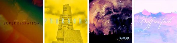 SOLAR BEARS, PHARAOHS, GLOSSARY, TRANSEPT... : LES SORTIES DE LA SEMAINE DU 15 AVRIL 2013