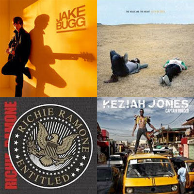 JAKE BUGG, THE HEAD AND THE HEART, RICHIE RAMONE, KEZIAH JONES... : LES ALBUMS DE LA SEMAINE EN STREAMING