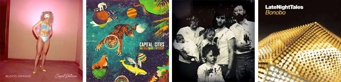 BLOOD ORANGE, CAPITAL CITIES, YOUNG KNIVES, BONOBO : LES ALBUMS DE LA SEMAINE EN STREAMING