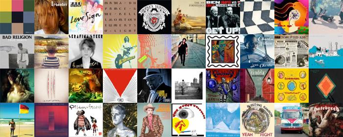 LE GUIDE DES ALBUMS DE 2013 - JANVIER 2013