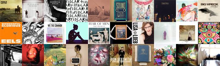 LE GUIDE DES ALBUMS DE 2013 - FEVRIER 2013
