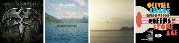 QUEENSRŸCHE, KODALINE, ROBIN FOSTER, OLIVIER LIBAUX... : LES SORTIES DE LA SEMAINE DU 24 JUIN 2013