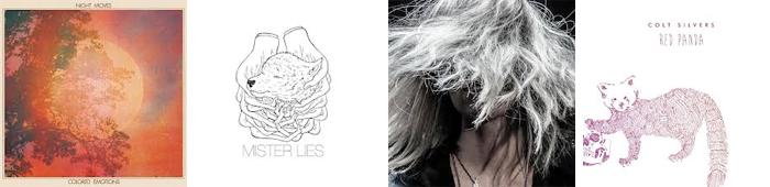 NIGHT MOVES, MISTER LIES, CARMEN VILLAIN, COLT SILVERS... : LES SORTIES DE LA SEMAINE DU 25 MARS 2013
