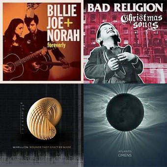 BILLIE JOE ARMSTRONG & NORAH JONES, BAD RELIGION, MARILLION, ATLANTIS... : LES ALBUMS DE LA SEMAINE EN STREAMING