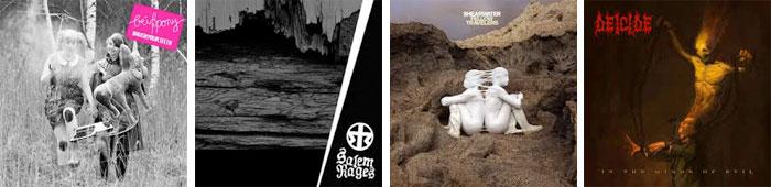 BEISSPONY, SALEM RAGES, SHEARWATER, DEICIDE : LES ALBUMS DE LA SEMAINE EN STREAMING