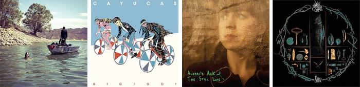 GUARDS, CAYUCAS, ALESSI'S ARK, WOLF PEOPLE... : LES SORTIES DE LA SEMAINE DU 29 AVRIL 2013