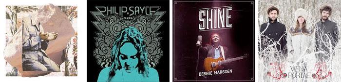 THE TRAVELLING BAND, PHILIP SAYCE, BERNIE MARSDEN, VENA PORTAE... : LES ALBUMS DE LA SEMAINE EN STREAMING