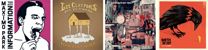 MAXÏMO PARK, DUO DE TWANG, THE JOHN BUTLER TRIO, BIRTH OF JOY... : LES ALBUMS DE LA SEMAINE EN STREAMING