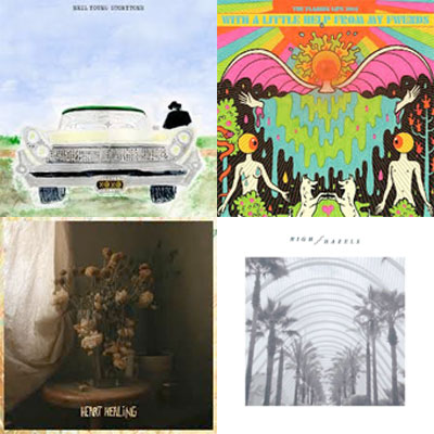 NEIL YOUNG, THE FLAMING LIPS, VOLAGE, HIGH HAZELS... : LES ALBUMS DE LA SEMAINE EN STREAMING