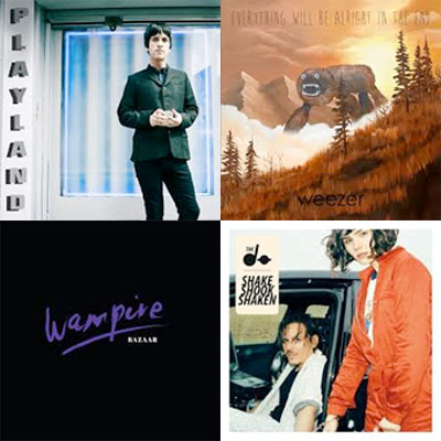 JOHNNY MARR, WEEZER, WAMPIRE, THE DO... : LES ALBUMS DE LA SEMAINE EN STREAMING