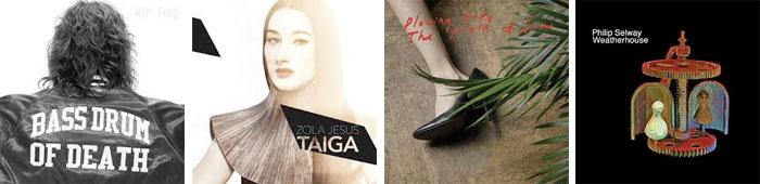 BASS DRUM OF DEATH, ZOLA JESUS, ICEAGE, PHILIP SELWAY... : LES ALBUMS DE LA SEMAINE EN STREAMING