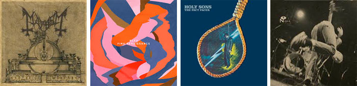 MAYHEM, NLF3, HOLY SONS, UNWOUND... : LES ALBUMS DE LA SEMAINE EN STREAMING