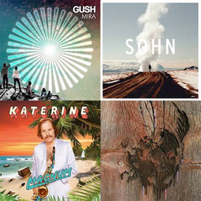 GUSH, SOHN, KATERINE, AVEY TARE'S SLASHER FLICKS... : LES ALBUMS DE LA SEMAINE EN STREAMING