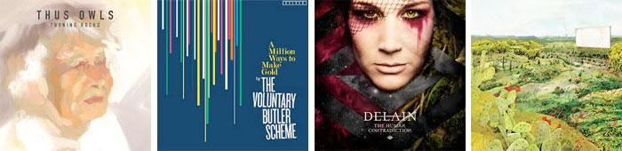 THUS:OWLS, THE VOLUNTARY BUTLER SCHEME, DELAIN, BUSMAN'S HOLIDAY... : LES ALBUMS DE LA SEMAINE EN STREAMING
