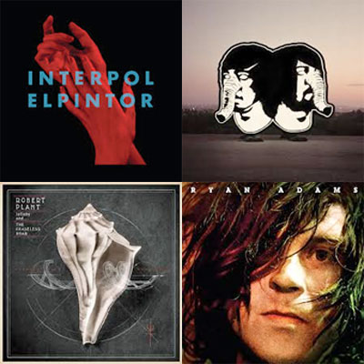 INTERPOL, DEATH FROM ABOVE 1979, ROBERT PLANT, RYAN ADAMS... : LES ALBUMS DE LA SEMAINE EN STREAMING