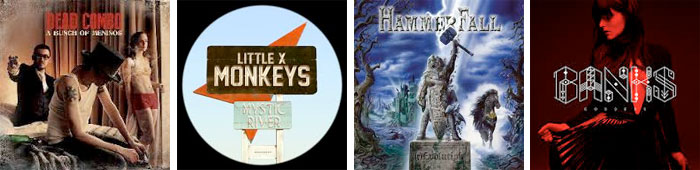DEAD COMBO, LITTLE X MONKEYS, HAMMERFALL, BANKS... : LES ALBUMS DE LA SEMAINE EN STREAMING