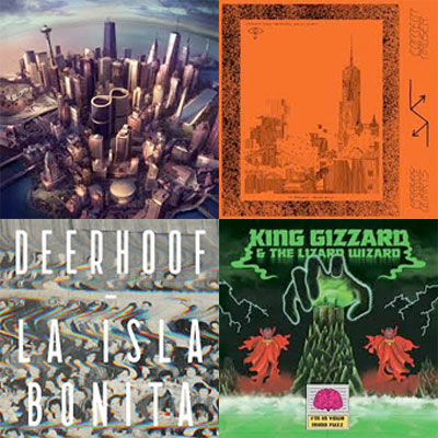 PARKAY QUARTS, DEERHOOF, KING GIZZARD AND THE LIZARD WIZARD, ALEX G... : LES ALBUMS DE LA SEMAINE EN STREAMING