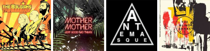 THE EXPERIMENTAL TROPIC BLUES BAND, MOTHER MOTHER, ANTEMASQUE, THE BLIND SHAKE... : LES ALBUMS DE LA SEMAINE EN STREAMING