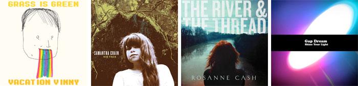 GRASS IS GREEN, SAMANTHA CRAIN, ROSANNE CASH, GAP DREAM... : LES ALBUMS DE LA SEMAINE EN STREAMING