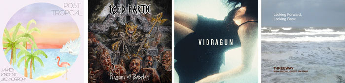 JAMES VINCENT MCMORROW, ICED EARTH, VIBRAGUN, JIM HART : LES ALBUMS DE LA SEMAINE EN STREAMING