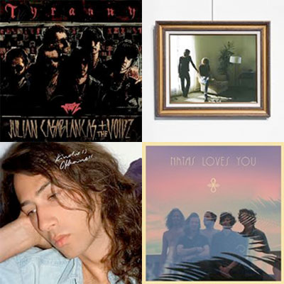 JULIAN CASABLANCAS + THE VOIDZ, FOXYGEN, KINDNESS, NATAS LOVES YOU... : LES ALBUMS DE LA SEMAINE EN STREAMING
