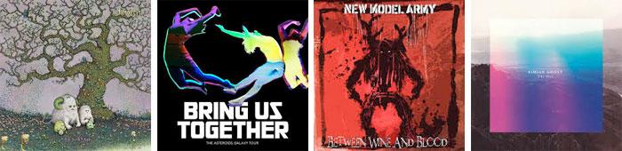 J MASCIS, THE ASTEROIDS GALAXY TOUR, NEW MODEL ARMY, SIMIAN GHOST... : LES ALBUMS DE LA SEMAINE EN STREAMING