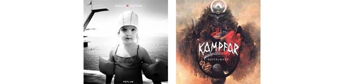 SARAH W PAPSUN, KAMPFAR : LES ALBUMS DE LA SEMAINE EN STREAMING