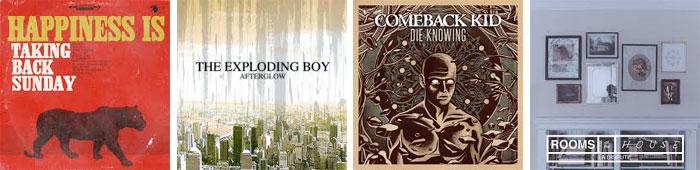 TAKING BACK SUNDAY, THE EXPLODING BOY, COMEBACK KID, LA DISPUTE... : LES ALBUMS DE LA SEMAINE EN STREAMING