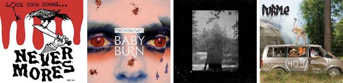 NEVERMORES, PSYCHO MUTANTS, GROUPER, PURPLE... : LES ALBUMS DE LA SEMAINE EN STREAMING