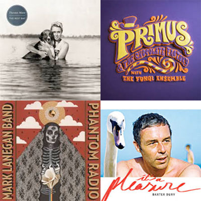 THURSTON MOORE, PRIMUS, MARK LANEGAN, BAXTER DURY... : LES ALBUMS DE LA SEMAINE EN STREAMING