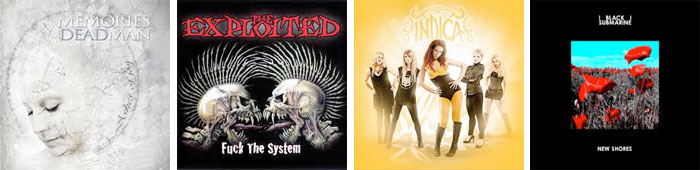 MEMORIES OF A DEAD MAN, THE EXPLOITED, INDICA, BLACK SUBMARINE : LES ALBUMS DE LA SEMAINE EN STREAMING