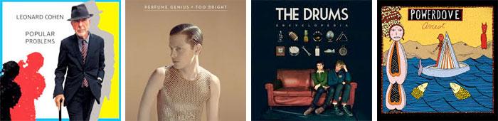LEONARD COHEN, PERFUME GENIUS, THE DRUMS, POWERDOVE... : LES ALBUMS DE LA SEMAINE EN STREAMING