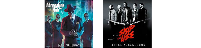 ADRENALINE MOB, SKIP THE USE : LES ALBUMS DE LA SEMAINE EN STREAMING