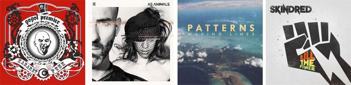 GOGOL PREMIER, AS ANIMALS, PATTERNS, SKINDRED... : LES ALBUMS DE LA SEMAINE EN STREAMING