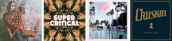 ANDY BURROWS, THE TING TINGS, BIRDY HUNT, CRUSKIN... : LES ALBUMS DE LA SEMAINE EN STREAMING
