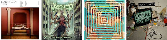 FEAR OF MEN, ABORTED, SANDY PUSSY, MEAN CREEK... : LES ALBUMS DE LA SEMAINE EN STREAMING