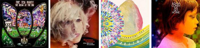 THE TEA PARTY, MARIANNE FAITHFULL, CHAPELIER FOU, ADAM COHEN... : LES ALBUMS DE LA SEMAINE EN STREAMING